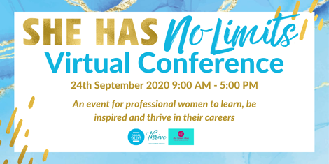 Announcing: She Has No Limits Conference